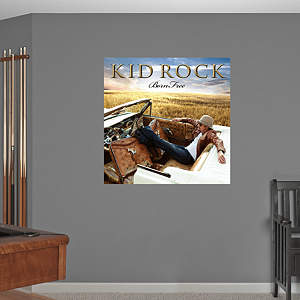 Kid Rock - Born Free Album Cover Fathead Wall Decal